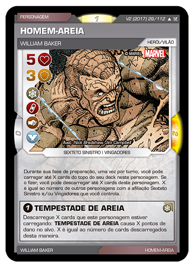 Battle Scenes BSCA 029 Homem-Areia - Incomum