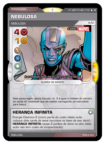 Battle Scenes BSCA 045 Nebulosa - Comum