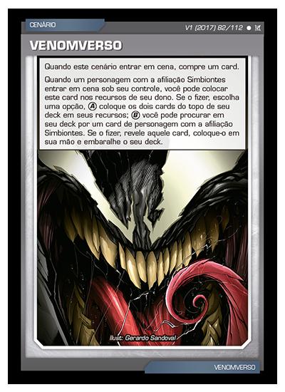 Battle Scenes BSCA 082 Venomverso - Comum