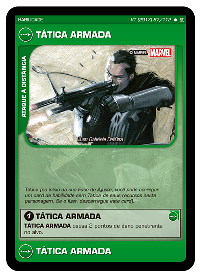 Battle Scenes BSCA 087 Tática Armada - Comum