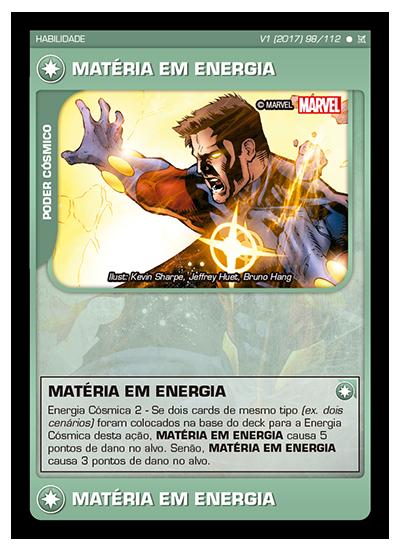 Battle Scenes BSCA 098 Matéria em Energia - Comum