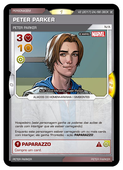 Battle Scenes BSCA DECK 024 Peter Parker