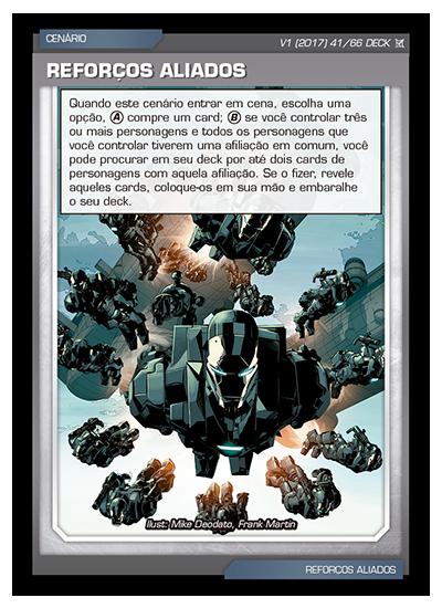 Battle Scenes BSCA DECK 041 Reforços Aliados
