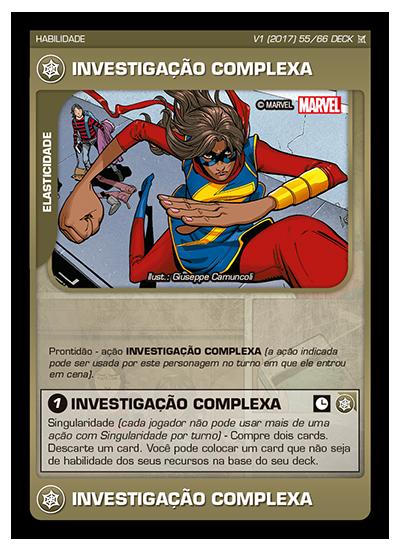 Battle Scenes BSCA DECK 055 Investigação Complexa
