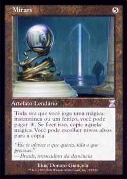 Magic the Gathering Espiral Temporal - Timeshift 112 Mirari - Mirari - Timeshift - Artefato