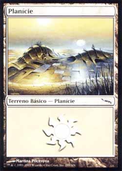 Magic the Gathering Mirrodin 289 Planície - Plains - Comum - Terreno