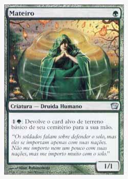 Magic the Gathering Nona Edição 247 Mateiro - Groundskeeper - Incomum - Verde