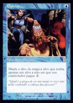 Magic the Gathering Odisséia 082 Desviar - Divert - Raro - Azul