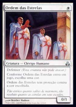 Magic the Gathering Pacto das Guildas 013 Ordem das Estrelas - Order of the Stars - Incomum - Branco