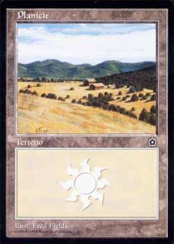 Magic the Gathering Portal 2 152 Planície - Plains - Comum - Terreno - Card em Português