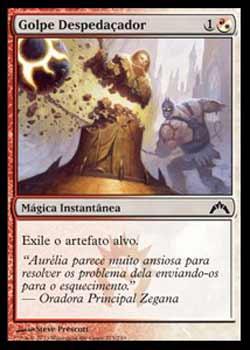 Magic the Gathering Portões Violados 225 Golpe Despedaçador - Shattering Blow - Comum - Multicor