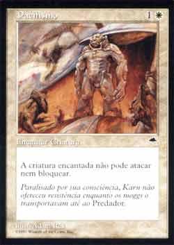 Magic the Gathering Tempestade 034 Pacifismo - Pacifism - Comum - Branco