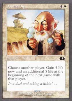 Magic the Gathering Unglued 003 Double Dip - Comum - Branco - Card em Inglês
